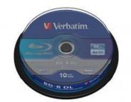 VERBATIM BD-R 50GB 6x CB/10