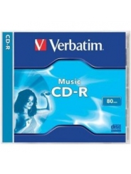 Verbatim CD-R диск 80min MUSIC AUDIO Jewel