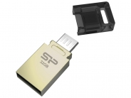 Накопитель USB/microUSB Flash 32Gb Silicon Power Mobile X10 OTG