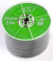 Диски VS DVD+R 4,7GB 16X SHRINK/50