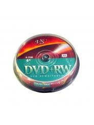 Диски VS DVD+RW 4,7Gb 4X Cake/10