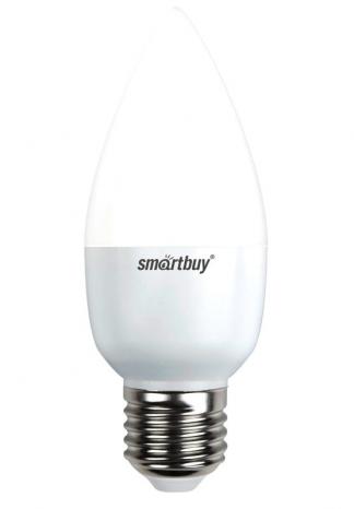 Лампа светодиодная SMART BUY C37-8,5W-220V-3000K-E27