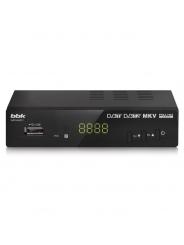 Ресивер DVB-T2 BBK SMP240HDT2 черный