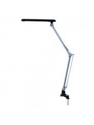 Светильник настольный светодиодный LED SmartBuy 7W, 220V, струбцина, черный.