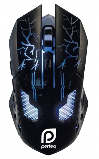 USB OPTICAL MOUSE PF-1712-GD «QUEST»