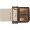 Накопитель USB/microUSB Flash 8Gb Kingston microDuo OTG