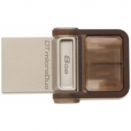 Накопитель USB/microUSB Flash 8Gb Kingston microDuo OTG