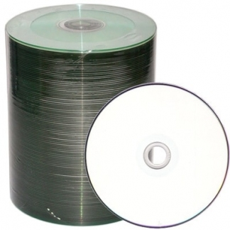 DVD-R printable диски 4,7GB 16X BULK/100 Full Ink printable