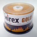 Mirex диски CD-R GOLD 700MB 24X CB/50