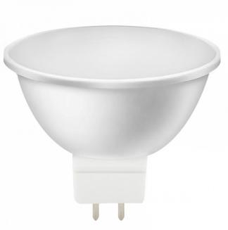 Лампа светодиодная SMART BUY MR16-5W-220V-6000K-GU5.3