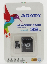 MicroSDHC 32Gb Adata