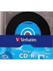 VERBATIM CD-R ДИСКИ 700MB 52X SLIM/10 VINYL