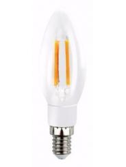 Лампа светодиодная SMART BUY C37-5W-220V-4000K-E14