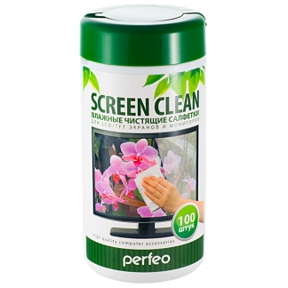 Салфетки PF-T/SC-100 «SCREEN CLEAN»