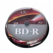 Диски для записи VS BD-R 25 GB 6x CB/10