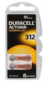 Duracell ZA312/6BL ActiveAir Nugget Box ZA312