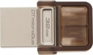 Накопитель USB/microUSB Flash 32Gb Kingston microDuo OTG
