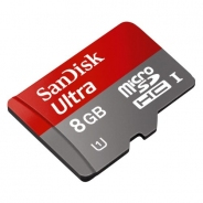 MICROSDHC 8GB SANDISK CLASS 10