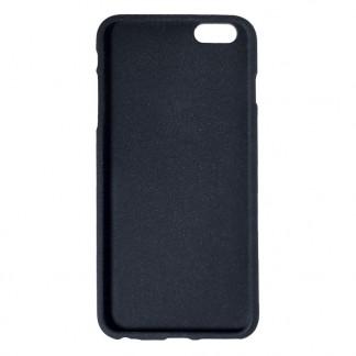 Клип-кейс для Apple iPhone 7 Plus, TPU шероховатый черный, Perfeo