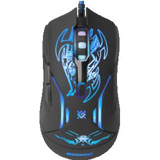 Мышь проводная игровая DEFENDER GM-250L Bionic