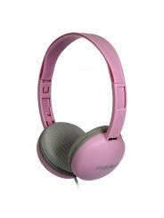 Наушники полноразмерные SmartBuy KIDS с ограничением громкости 80дБ, Pink