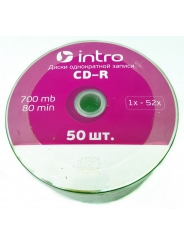 Intro CD-R диск 700mb 52x Shrink/50