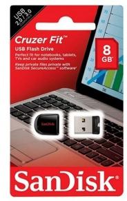 USB 8GB SANDISK CRUZER FIT