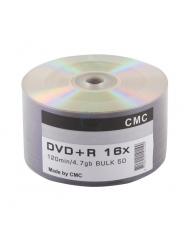 DVD+R болванки  4,7GB 16X bulk/50 no print (CMC)