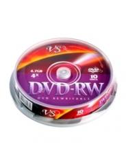 ДИСК VS DVD-RW 4,7GB 4X CB/10