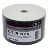 CD-R PRINTABLE ДИСКИ 700MB 52X BULK/50 (CMC)