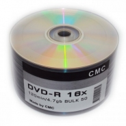 DVD-R 4,7GB 16X BULK/50 no print (CMC)