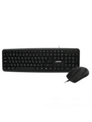 Комплект клавиатура мышь Perfeo TANDEM Black