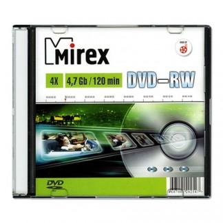 Mirex DVD-RW 4,7Gb 4x slim/5 (UL130032A4S)