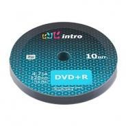 Intro DVD+R 4,7GB 16X Shrink/10