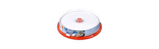 Диск DVD-R SmartTrack 4,7Gb 16x Printable cake 10