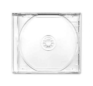 CD BOX JEWEL CLEAR КОРОБКА ДЛЯ ДИСКА ПРОЗРАЧНАЯ