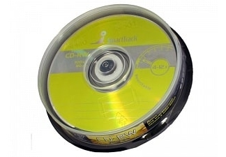 Диски Smart Track CD-RW 700MB 12X CB/10
