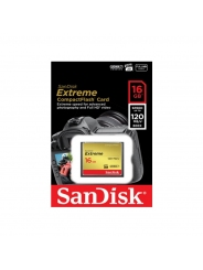 CF SanDisk Extreme   16GB 120MB/s