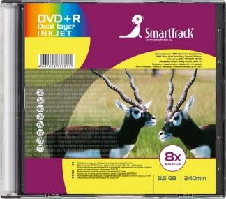 Диск Smart Track DVD+R DL 8,5GB 8X Slim/1