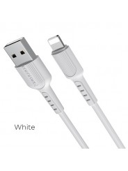 Кабель для Apple 8-pin - USB, 1.0м HOCO Borofone BX16, белый, 2A (BX16 Apple white)