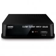 Ресивер DVB-T2 BBK SMP017HDT2 темно-серый