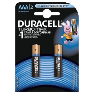 Батарейки Duracell LR03/2BL TURBOMAX