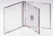КОРОБКА ДЛЯ 2-Х ДИСКОВ CD BOX DOUBLE CLEAR ПРОЗРАЧНАЯ