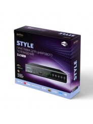 Perfeo DVB-T2/C приставка для цифрового телевидения STYLE