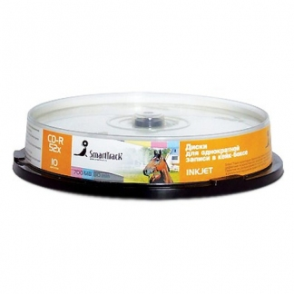 Диск CD-R SmartTrack 700Mb 52x Printable cake 10