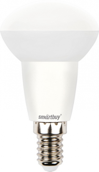 Лампа светодиодная SMART BUY R50-6W-220V-4000K- E14