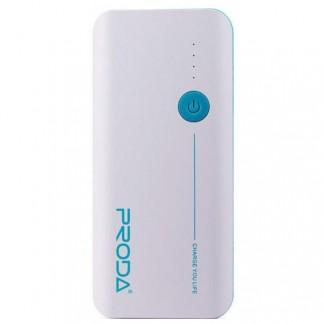 Аккумулятор портативный REMAX 20000 mAh PRODA V10, 2*USB, фонарик